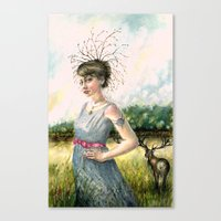 Crown Of Fall Canvas Print