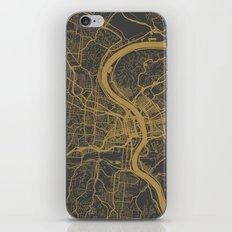 Cincinnati map iPhone & iPod Skin