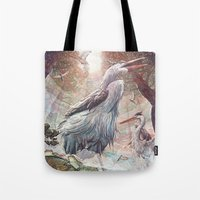 At the River Bend Tote Bag