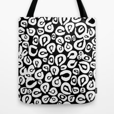 LEOPARD! (black) Tote Bag