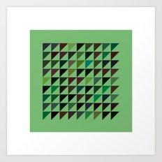 #71 Flags – Geometry Daily Art Print