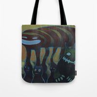 Traffic Day Tote Bag