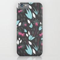 Nighttime Dandelions iPhone 6 Slim Case