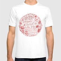 Invincible Summer Mens Fitted Tee White SMALL