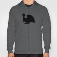 Silly Turkey Silhouette Hoody