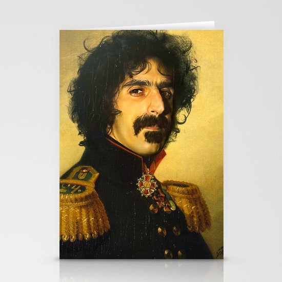 Frank Zappa - replaceface Stationery Card