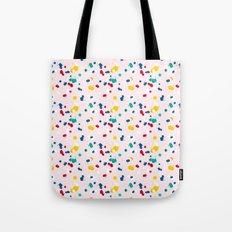 happy confetti Tote Bag
