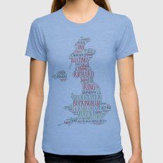Shakespeare's Richard III  Womens Fitted Tee Athletic Blue SMALL