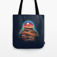 Droid-land Tote Bag