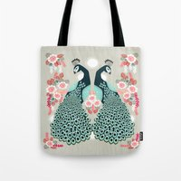 Peacocks By Andrea Laure… Tote Bag