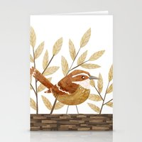Carolina Wren Stationery Cards