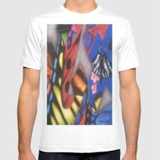 ButterFlys Mens Fitted Tee White SMALL