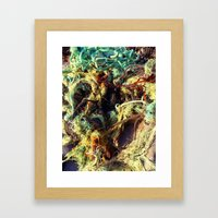 old rope Framed Art Print
