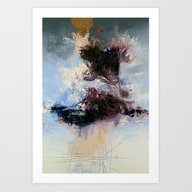 Art Print featuring CATHARTIC by THE USUAL DESIGNERS