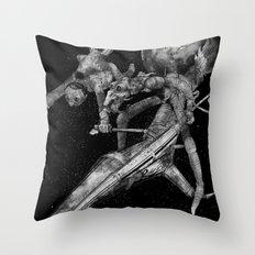 Don Quixote and Sancho. Throw Pillow