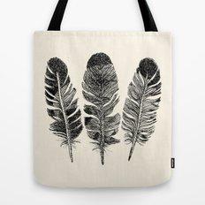 Feather Eagle Tote Bag