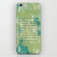 Awake My Soul II iPhone & iPod Skin