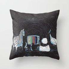 Now in Technicolour... Throw Pillow