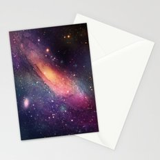 Galaxy colorful Stationery Cards