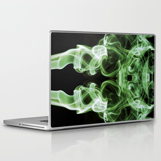 Smoke Photography #21 Laptop & iPad Skin