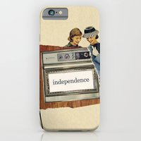 iPhone & iPod Case featuring independence by Errin Ironside