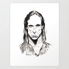 Iggy Art Print