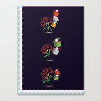 Christmas Card - Presents Canvas Print