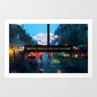 Good Morning Oblivion Ch… Art Print
