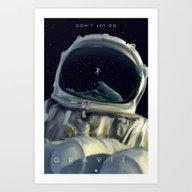 Gravity Alternative Post… Art Print