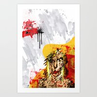 King Of The Dogs #2 Art Print