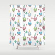 Garden Gnomes Shower Curtain