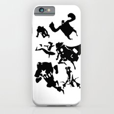 The Avengers Minimal Black and White iPhone 6 Slim Case