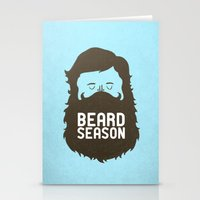 quote Stationery Cards featuring Beard Season by Chase Kunz