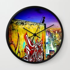 Edge of Glory Wall Clock