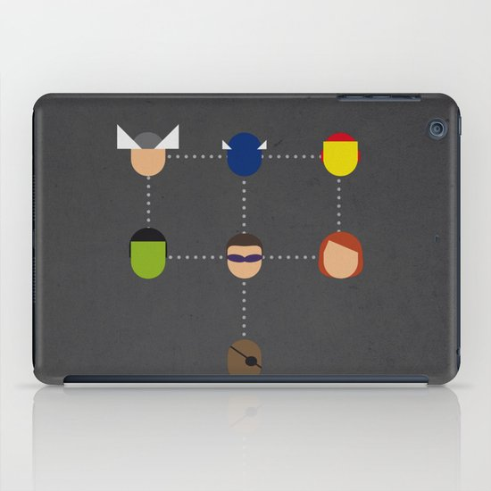 The advengers Capsules iPad Case