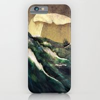iPhone Cases featuring Moby Dick by Rachael Shankman
