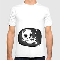 I See You! Mens Fitted Tee White SMALL