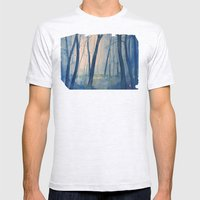 Nel bosco Mens Fitted Tee Ash Grey SMALL
