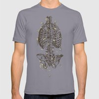 Life & Death Mens Fitted Tee Slate SMALL