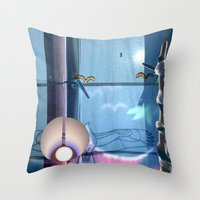 Huelek Throw Pillow
