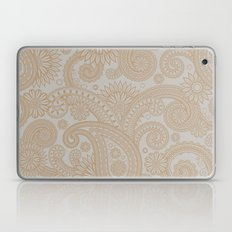 Paisley Platinum Laptop & iPad Skin
