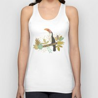 Forest Toucan  Unisex Tank Top