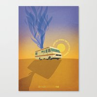 Breaking Bad - Four Days Out Canvas Print