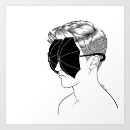 Art Print - It's raining inside - Henn Kim