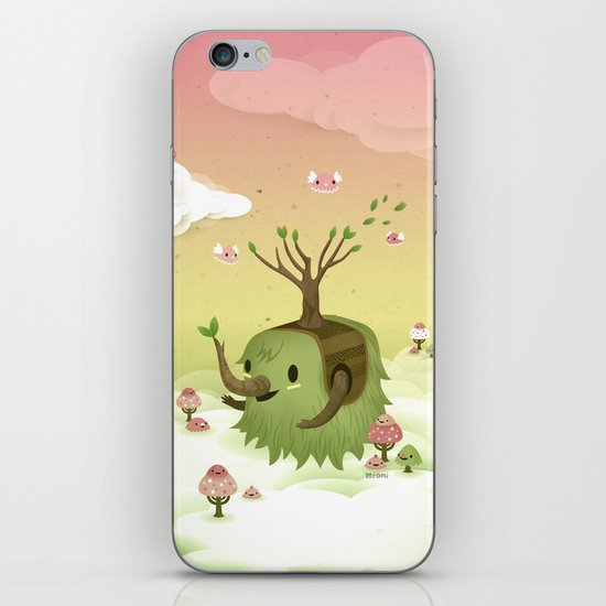 Mossiphants iPhone & iPod Skin