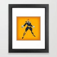 Richard Rider (Nova) Framed Art Print
