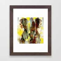 Bilocation Framed Art Print
