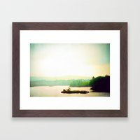 The Hollow Framed Art Print