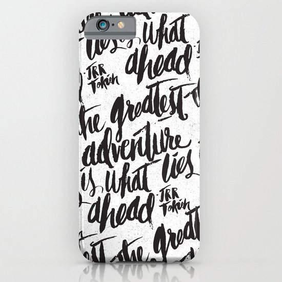 ...WHAT LIES AHEAD iPhone & iPod Case
