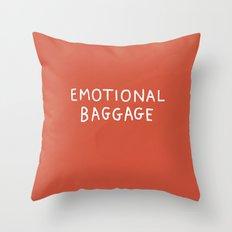 Emotional Baggage Throw Pillow